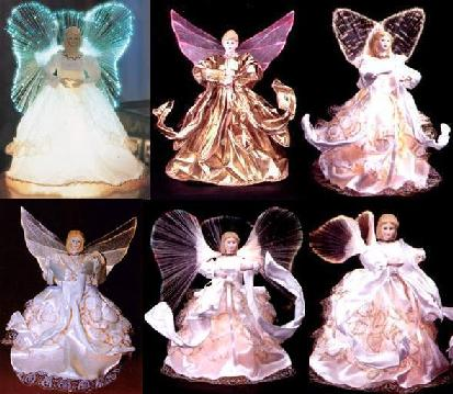 Искусственные оптиковолоконные ёлки светящиеся фигурки ангел Дед Мороз светящиеся искусственные елки домики с оптиковолокном и м